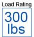 300 load capacity