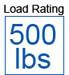 500 load capacity