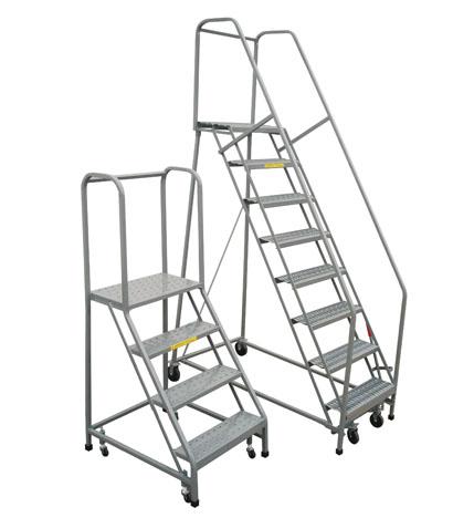 Pw Platforms Inc Rolling Safety Ladder
